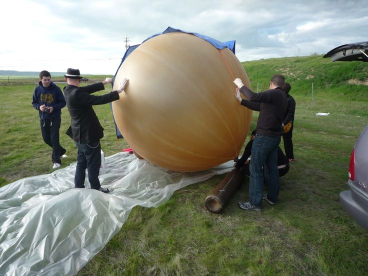 Group sends diy weather balloon 70,000 ft. in the sky.