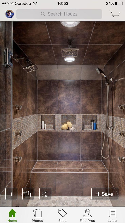 Indoor Outdoor BathroomIndoor Outdoor LivingOutdoor ShowersCabin BathroomsSalon  IdeasMaster BathroomBathroom IdeasOpen ShowersFoie Gras