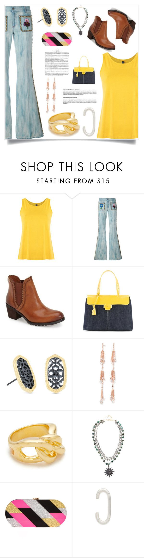 """Be your own style"" by denisee-denisee ❤ liked on Polyvore featuring Lygia & Nanny, Gucci, Pikolinos, Myriam Schaefer, Kendra Scott, Lizzie Fortunato, Ela Rae and Milly"