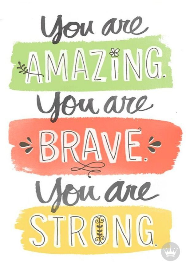Repeat as often as possible. We feel really lucky to work with such encouraging writers at Hallmark! They keep our self-esteem high with inspirational quotes like this. Customize your card for somebody who needs a boost at Hallmark.com.