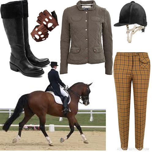 Horseback Riding Attire Admit It It D Be Pretty Cool To