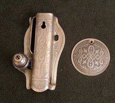 """Singer Model 15-90 15-91 """"Celtic Scroll"""" Face Plate w ..."""