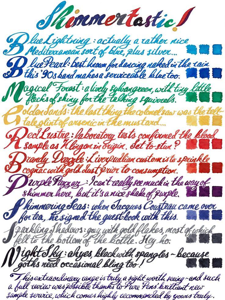 182 Best Fountain Pens Inks Etc Images On Pinterest