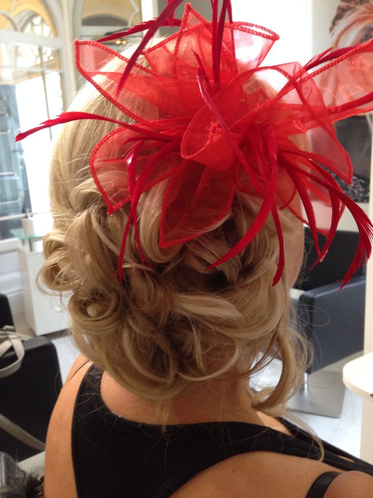 Hair ready for the races at Blake & Butler