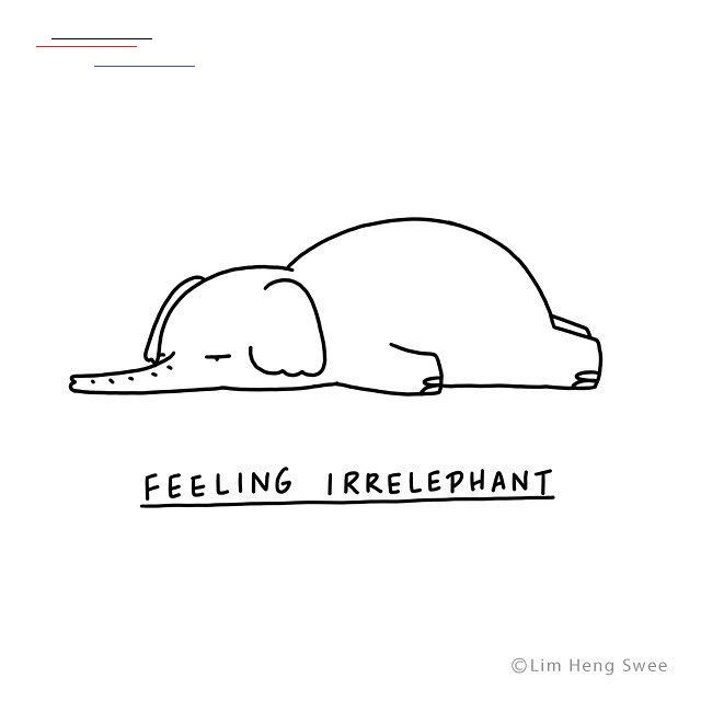 Illustrated Animals Lie Flat On The Floor With Clever Puns Describing Their Varying Moods In 2020