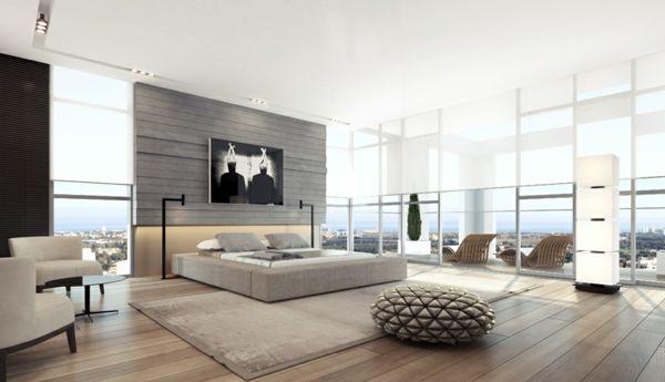 Genial modernes schlafzimmer einrichten