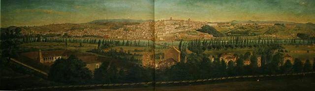 Panorâmica de 1865