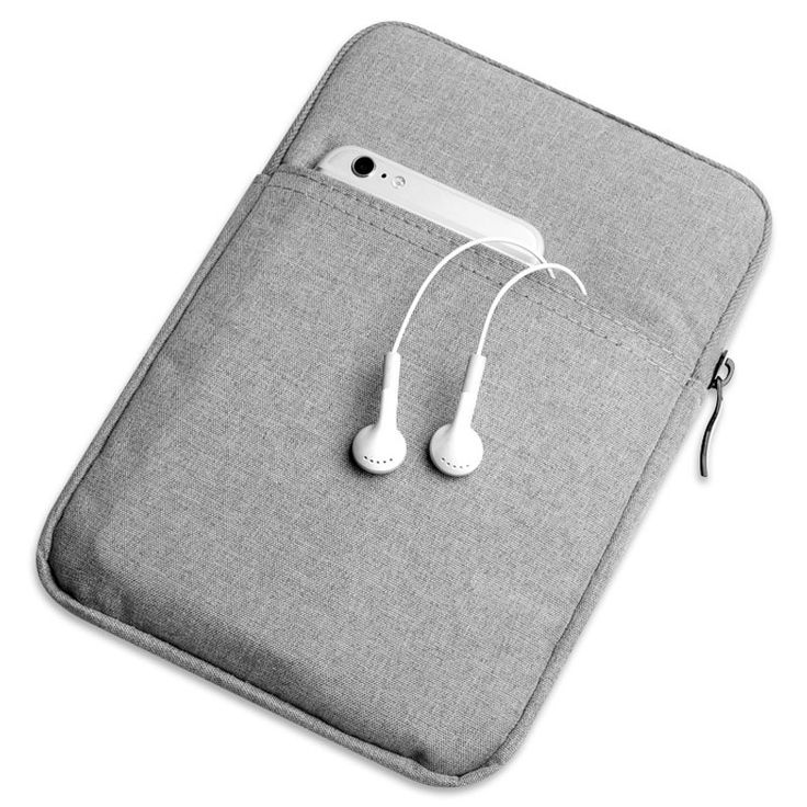 Solid Nylon Tablet Sleeve Pouch Bag For Apple iPad Air/Air2/Pro 9.7 for iPad Mini 1/2/3/4 Case Cover Capa Para+ Stylus Pen Gift