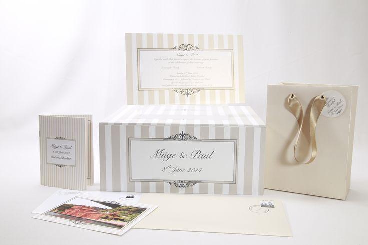 Davetiyenizle takım düğün programı, dilek kartı kutusu, posta kartı şeklinde teşekkür kartları, tümü Ayşegül Evleniyor'da
