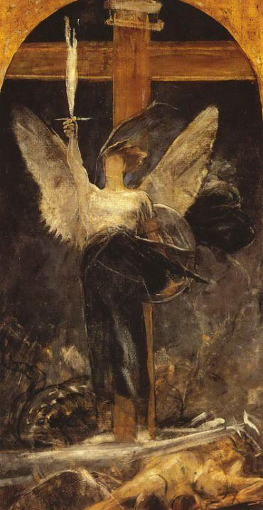 .:. Γύζης Νικόλαος – Gyzis Nikolaos [1842-1901]Αρχάγγελος 1