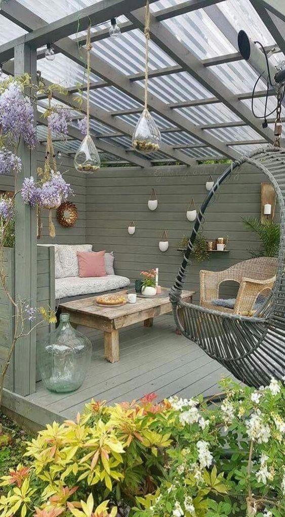 25 Most Stylish and Coziest Backyard Patio Ideas T…