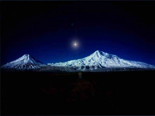 The Mountains of Ararat  is the place named in the Book of Genesis where Noah's Ark came to rest after the great flood (Genesis 8:4).