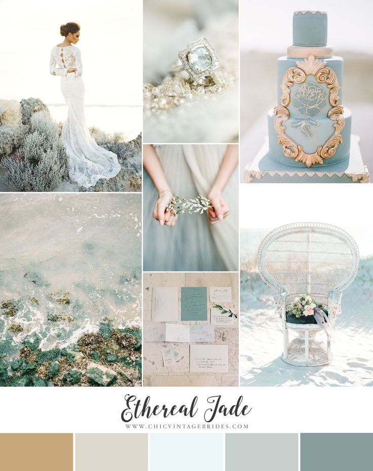 Ethereal Jade - Dreamy Beach Wedding Inspiration in Shades of Jade & Sand