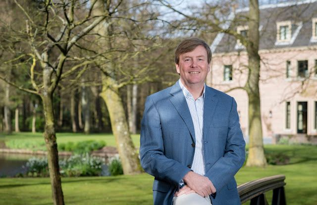 The Dutch royal court has released 5 new official photos of King Willem-Alexander I in celebration of His Majesty's 50th birthday