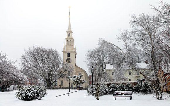 Winter in Newport Rhode Island