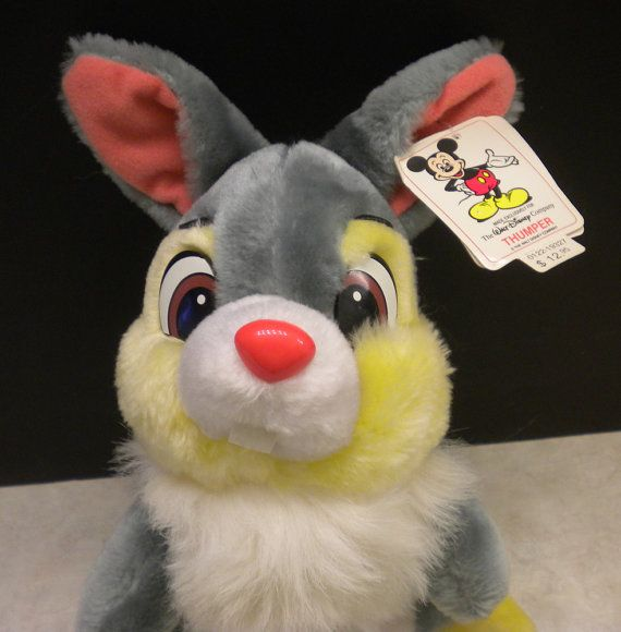 Stuffed thumper vintage that's