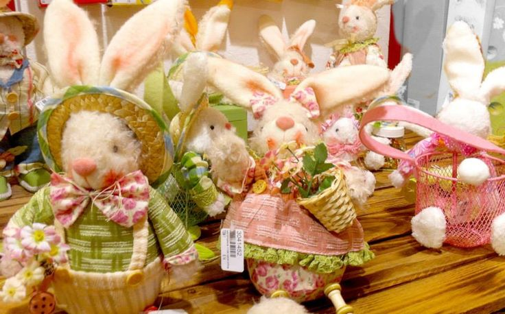 Easter bunny candy holders