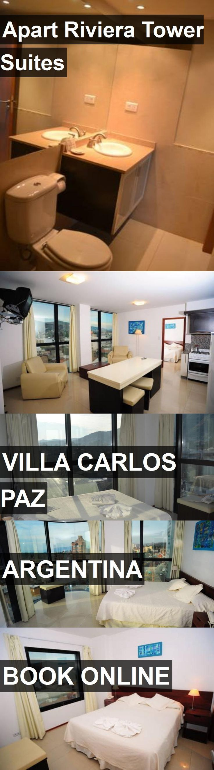 Hotel Apart Riviera Tower Suites in Villa Carlos Paz, Argentina. For more information, photos, reviews and best prices please follow the link. #Argentina #VillaCarlosPaz #travel #vacation #hotel