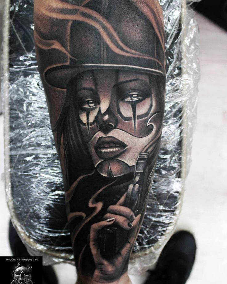 794 best images about tattoo 39 s i like on pinterest for Chicano clown girl tattoos