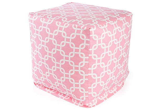 little cube: Cubes Ottomans, Things Pink, Pattern, Soft Pink, Pink Cubes, Products, Small Cubes