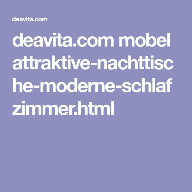 Deavita.com Mobel Attraktive Nachttische Moderne Schlafzimmer.html