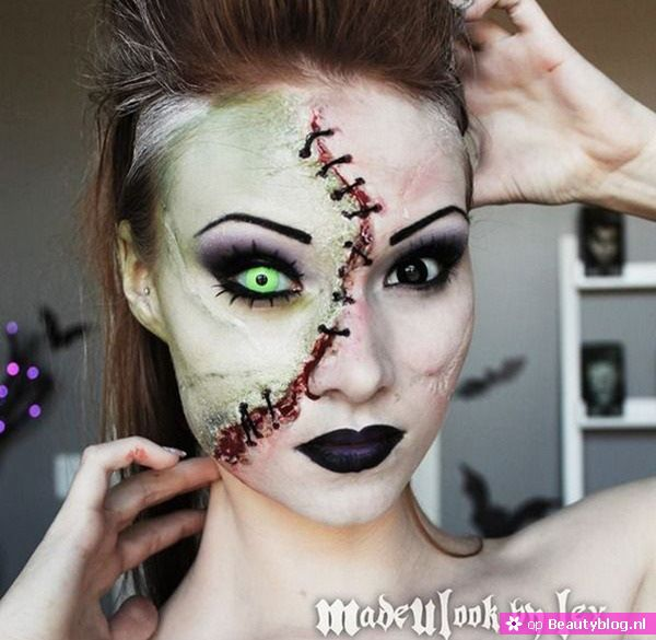 Halloween make up 2014 18