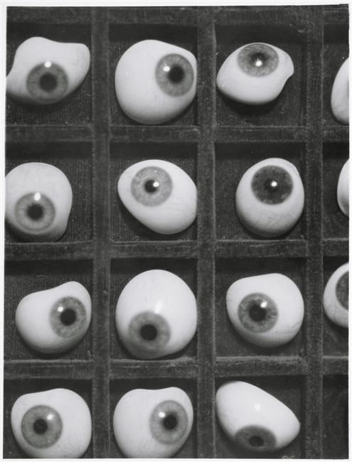 Herbert Bayer, Glass Eyes, 1928
