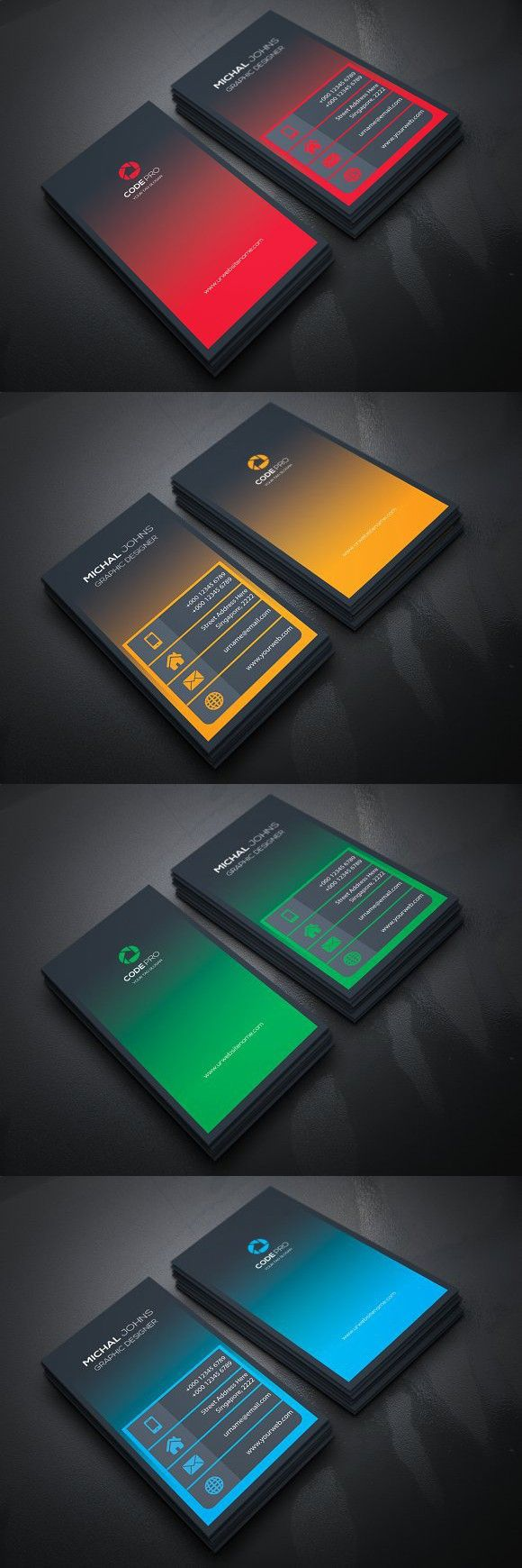 Creative Business Card. Business Card Templates