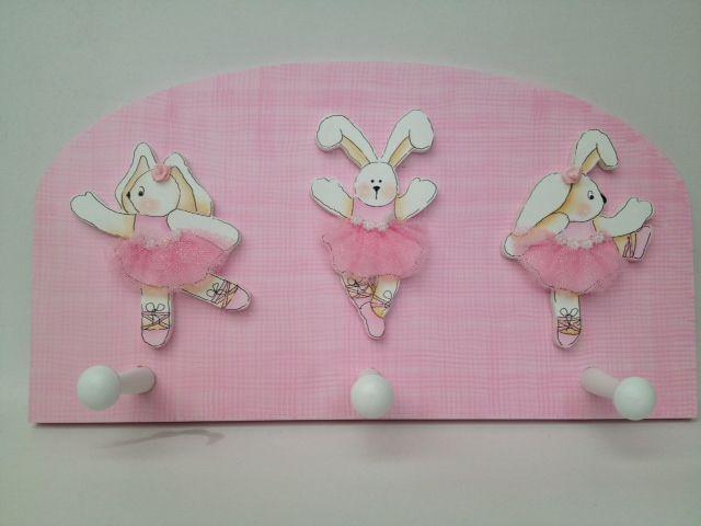 Bunnies ballet dancers hanger