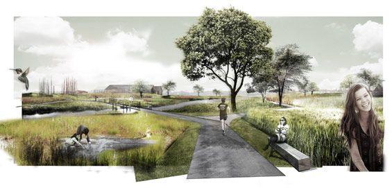 DELVA Landscape Architects & Plusoffice Architects win Leiemeersen competition
