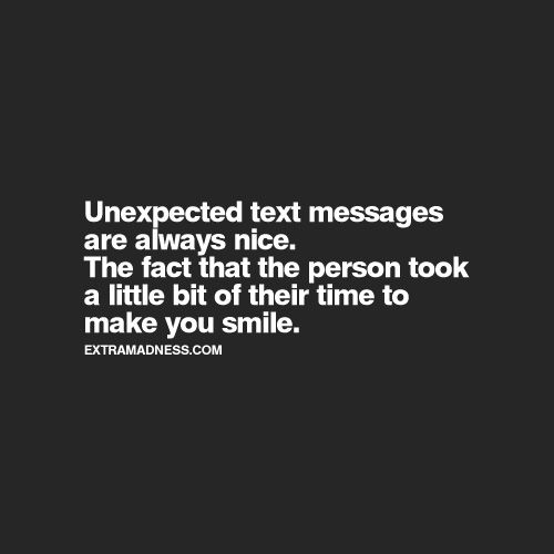 An Unexpected Message That Means Something Will Matter To