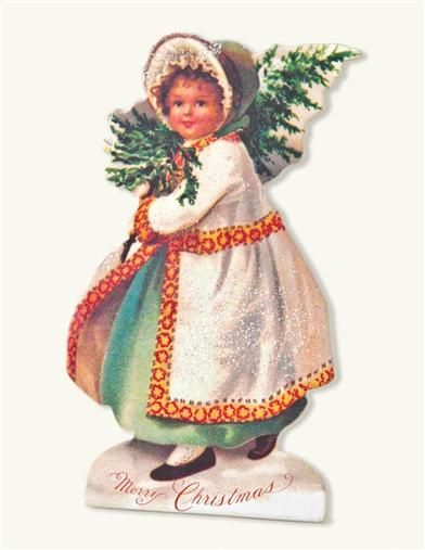 Fir Tree Francine Little Lassie Dummy Board from Victorian Trading Co.