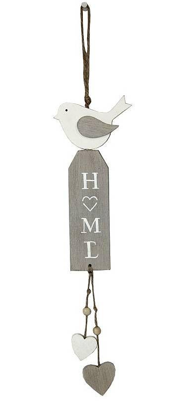 Závěs s ptáčkem home