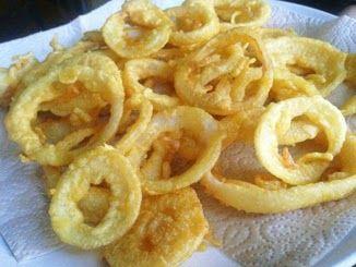 4 Foodies: Anelli di cipolla in pastella senza glutine