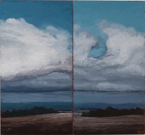 """A Cruciform Landscape, 2006"" by Phillip Wolfhagen (Lot Number 3) | Mossgreen Auctions (Art Auctions), Melbourne"