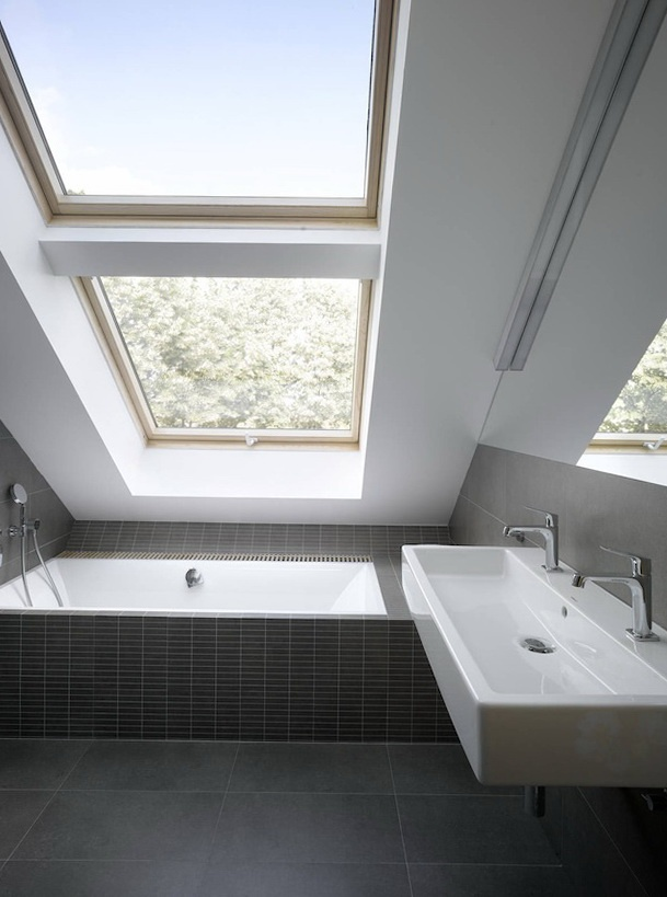 Look at the mirror! Is this the best thing to do with loft shower room?