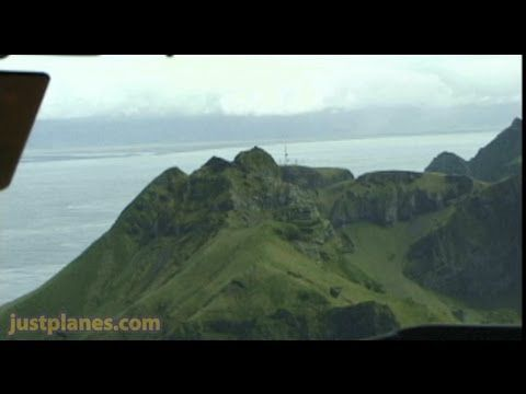 Incredible landing at Vestmannaeyjar! MUST SEE!