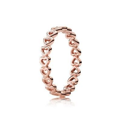 040ce083d5491 Pandora Jewelry 60% OFF! >>>Visit>> Linked Love Ring PANDORA Rose ...