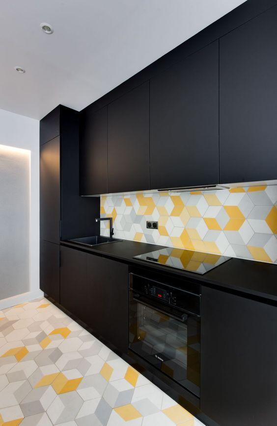 Cuisine ouverte Appartement de 69m2- GCG Architectes