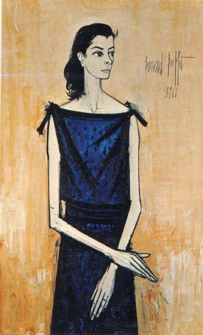 Portrait of Annabel  by Bernard Buffet (1960)