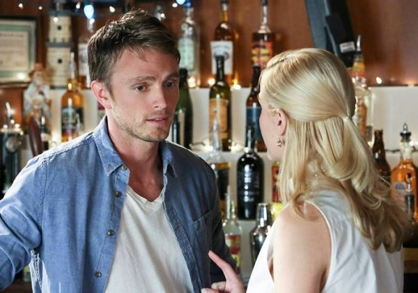 "Wilson Bethel (right) and Jamie King (left) as Wade Kinsella and Lemon Breeland on The CW's ""Hart of Dixie"""