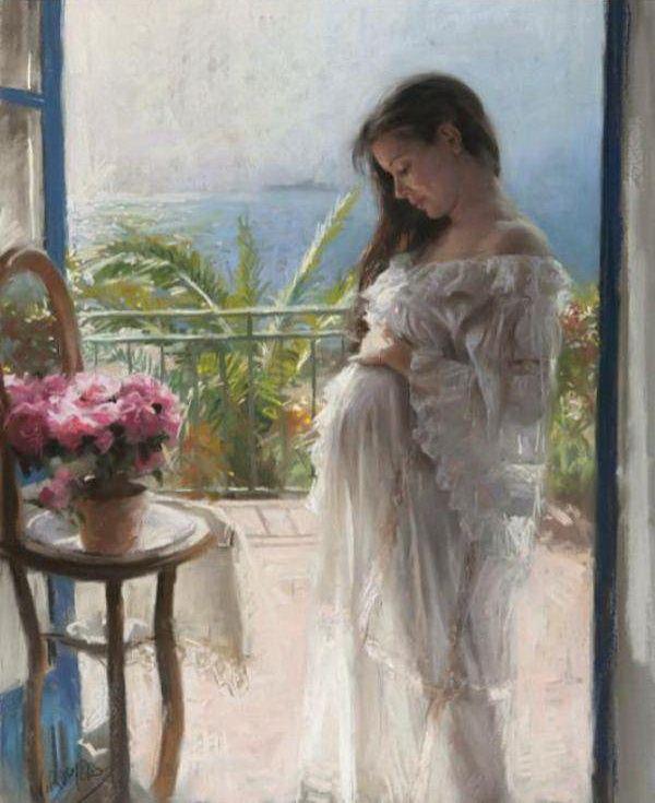 Нежные женские образы в картинах испанского художника Vicente Romero Redonto - Ярмарка Мастеров - ручная работа, handmade