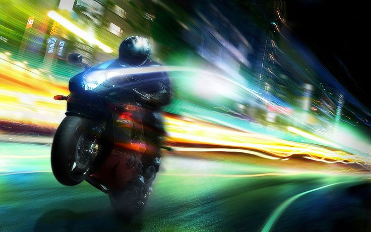High Resolution Wallpapers Widescreen Motorcycle
