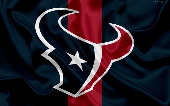 Lataa kuva Houston Texans, logo, tunnus, National Football League, NFL, USA, Amerikkalainen jalkapallo