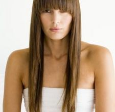 Three different diy hair treatments to make your hair naturally straight and shiny. No heat involved. (My favorite is the coconut milk and lemon juice treatment.)