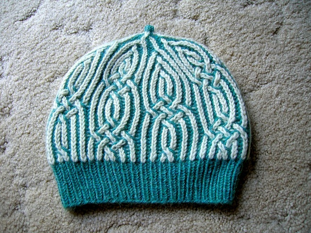 Brioche Beret Knitting Pattern : 17 Best images about Knit: Brioche on Pinterest Cable, Knitting and Stitches