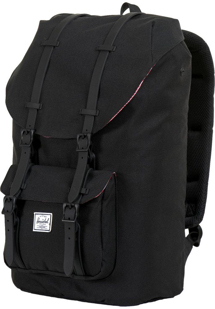 Herschel Little-America black on black......I do have a weakness for weekender bags