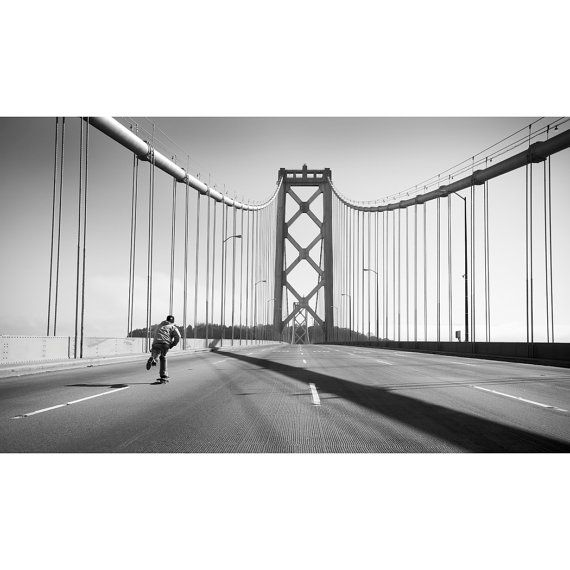 Josh Kalis Bay Bridge San Francisco Ca. 2012 by BLABACPHOTO, $100.00