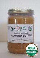 My favorite almond butter!!! ORGANIC NUT BUTTER: Sun Organic Farm