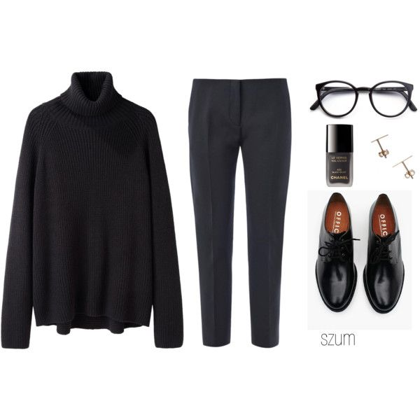 A fashion look from September 2014 featuring Hope sweaters, Acne Studios pants and Brixton oxfords. Browse and shop related looks.